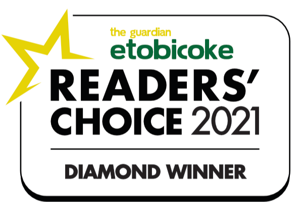 Readers' Choice 2021 Diamond Winner Etobicoke